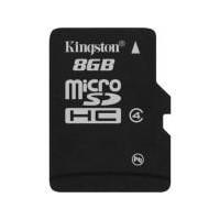 Карта памяти Kingston microSDHC 8 GB Class 4