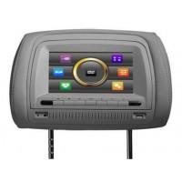 Подголовники с монитором и DVD-проигрывателем Klyde KL 4700 (серый)