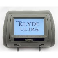 Подголовник с монитором и DVD-проигрывателем  KLYDE Ultra 745 HD Gray (серый)