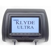 Подголовник с монитором и DVD-проигрывателем KLYDE Ultra 745 HD Black (черный)