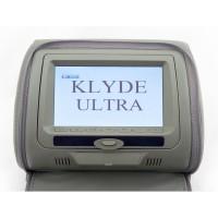 Подголовник с монитором и DVD-проигрывателем KLYDE Ultra 747 HD Gray (серый)
