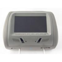 Подголовник с монитором KLYDE Ultra 715 Grey (серый)