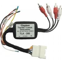 Адаптер усилителя Toyota/Lexus Clayton TLA-200