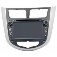 Штатная магнитола Globex GU-Y755i Hyundai Accent 2011 (без карты)