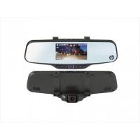 Зеркало заднего вида со встроенным SuperHD видеорегистратором HP F720