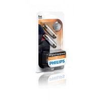 Лампа накаливания Philips Festoon T10.5X43, 2шт/блистер 12866B2