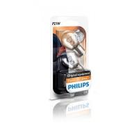 Лампа накаливания Philips P21W, 2шт/блистер 12498B2