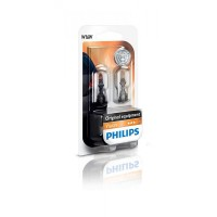 Лампа накаливания Philips W16W, 2шт/блистер 12067B2
