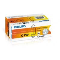 Лампа накаливания Philips C5W, 10шт/картон 12844CP