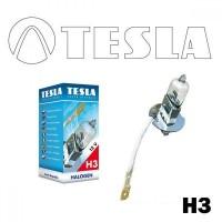 Лампа галогенная Tesla Н3 (PK22s) 24V, 70W B10302