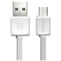 Кабель для зарядки REMAX Micro USB RC-008m White 1m