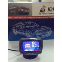 Парктроник iDial ID-069-8 LCD черный